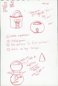 """""""Designer Fro Bag - Plans"""" by Unicia R. Buster"""