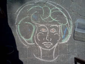 """""""Sidewalk Chalk Salon"""" by Unicia R. Buster"""