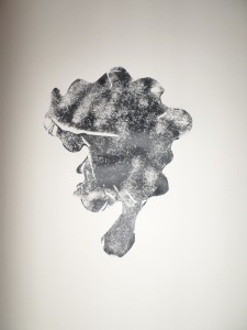 """Foam Stencil 'Fro"" by Unicia R. Buster"