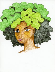 """Manga Afro"" by Unicia R. Buster"