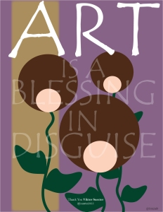 """Art is a Blessing in Disguise"" by Unicia R. Buster"
