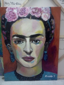 """Frida Kahlo"" by Mrosa"