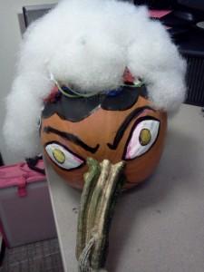 """""""Ol' Lady Pumpkin"""" by Unicia R. Buster"""