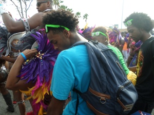 """""""Carnival Madness Afro"""" by Unicia R. Buster"""