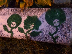 """""""Garden 'Fros"""" by Unicia R. Buster"""