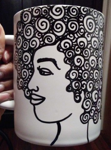 """""""Afro Mug Style"""" by Unicia R. Buster"""